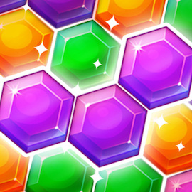 StartHomeゲームの真冬のヘクサパズル