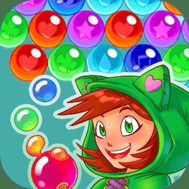 秘密のバブルのかんたんゲームサムネイル