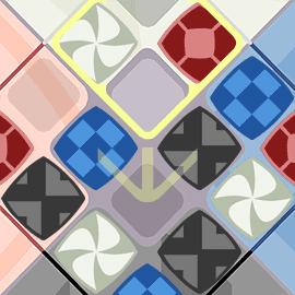 パズルゲーム|回転パズル紋転輪舞~モンテロンド~